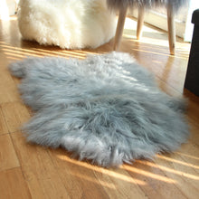 Load image into Gallery viewer, Icelandic Sheepskin Rug Cotton Grey (Single)