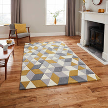 Load image into Gallery viewer, Hong Kong 3653 Geometric Colourful Modern Rugs