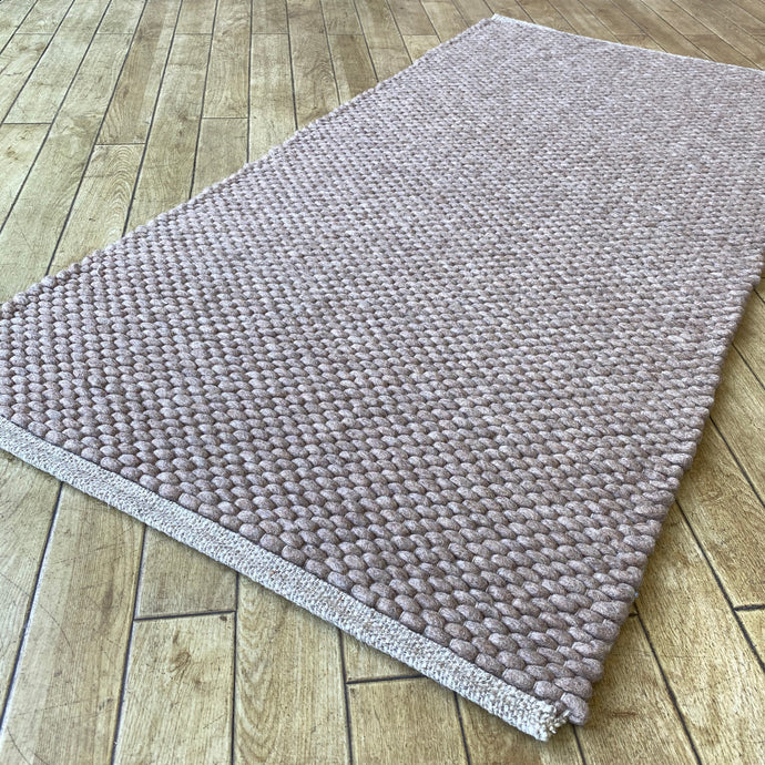 Hermes Hand Woven Wool Rug - Taupe