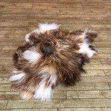 Load image into Gallery viewer, Natural Brown Spotted Icelandic Sheepskin Rug (Medium) - Choose Your Rug