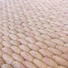 Load image into Gallery viewer, Hermes Hand Woven Wool Rug - Powder Pink