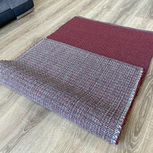 Load image into Gallery viewer, Hermes Hand Woven Wool Rug - Burgundy