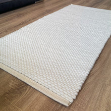 Load image into Gallery viewer, Hermes Hand Woven Wool Rug - Natural