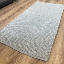 Load image into Gallery viewer, Hermes Hand Woven Wool Rug - Grey