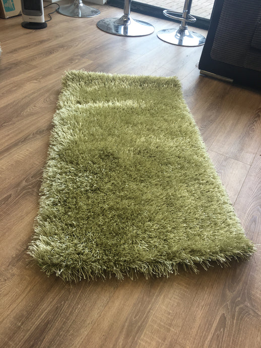 SALE - Monte Carlo - Shaggy Rug - Green