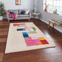 "Load image into Gallery viewer, Inaluxe IX14 ""Hey Ho Lets Go"" Modern Designer Rug"