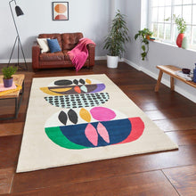 "Load image into Gallery viewer, Inaluxe IX11 ""Neon"" Modern Designer Rug"