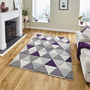 Matrix MT15 Geometric Modern Rug