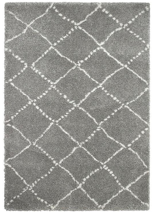 SALE - Royal Nomadic 5413 Grey Shaggy Rug