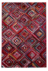 Sunrise Y505A Multi coloured Modern Rug
