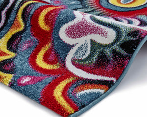 Sunrise Y583A Multi coloured Modern Rug