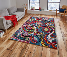 Load image into Gallery viewer, Sunrise Y583A Multi coloured Modern Rug