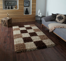 Load image into Gallery viewer, Vista 2247 Checked Modern Rug
