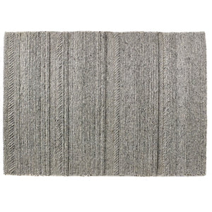 Chunky Knit Natural Wool Modern Rugs