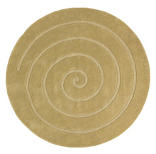 Load image into Gallery viewer, Spiral Circular Modern Rug