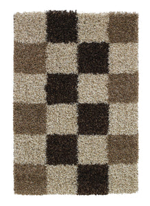 Vista 2247 Checked Modern Rug