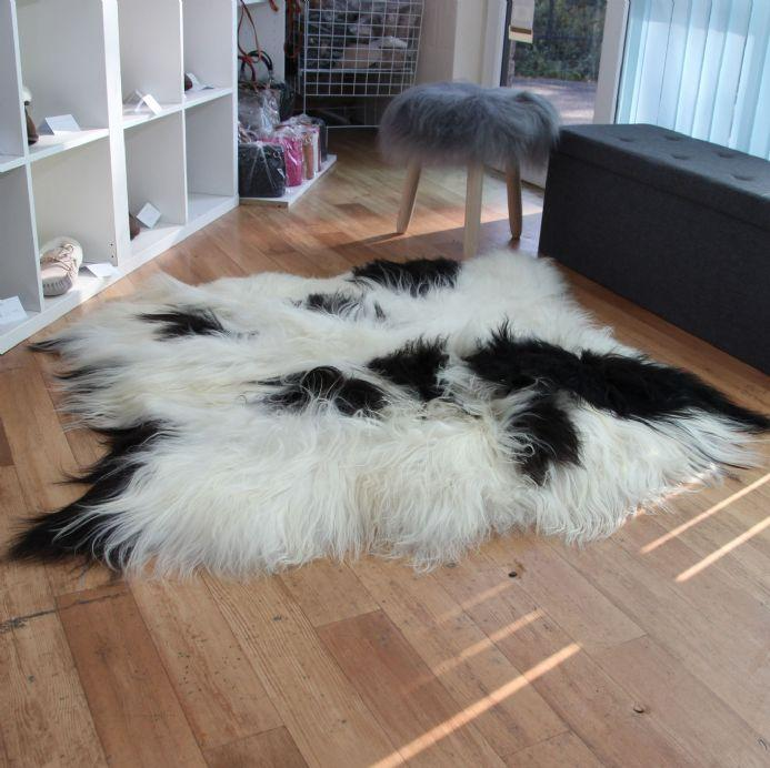 Icelandic Sheepskin Rug Spotted (Double) XL