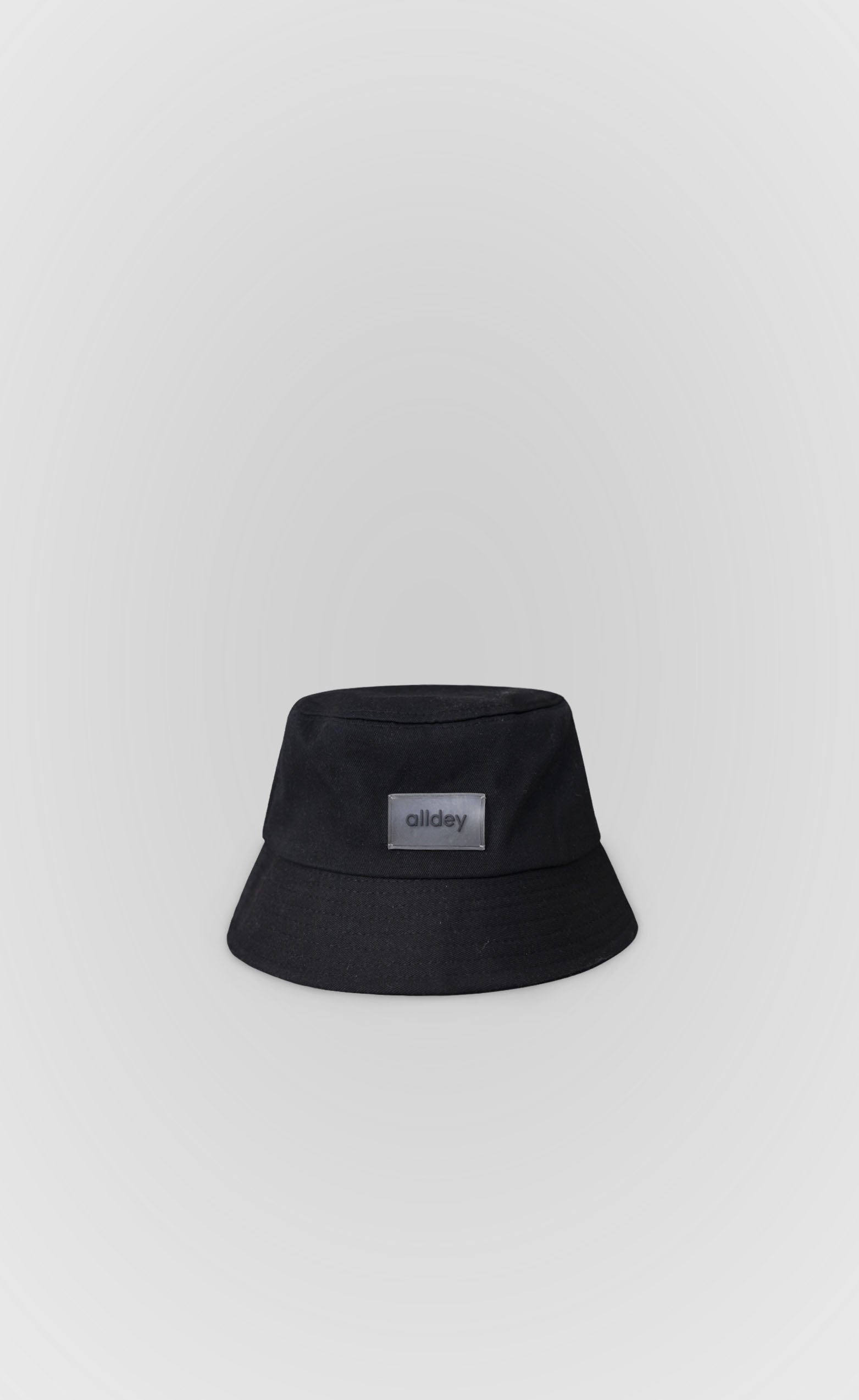 Charcoal Black Bucket Hat - Alldey Studios