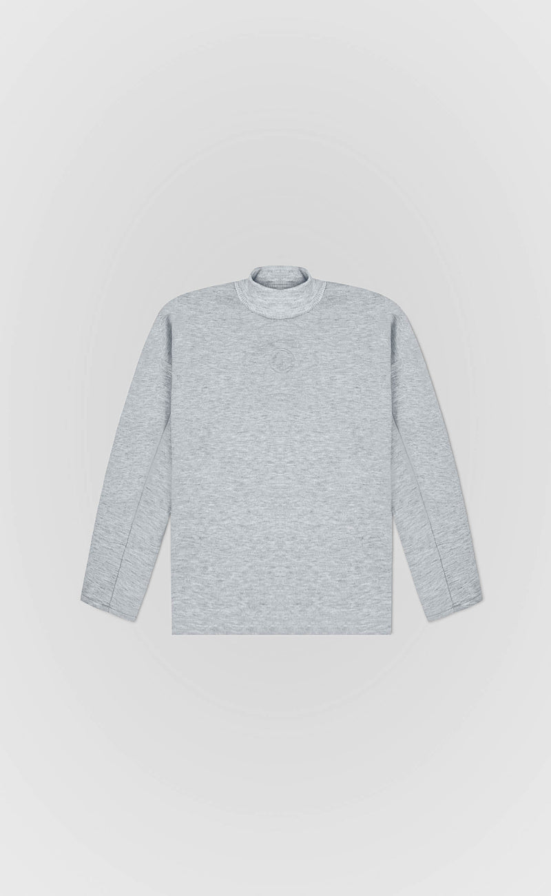 Cloudy Grey Signature Sweater - Alldey Studios