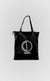 Black Tote Bag - Alldey Studios