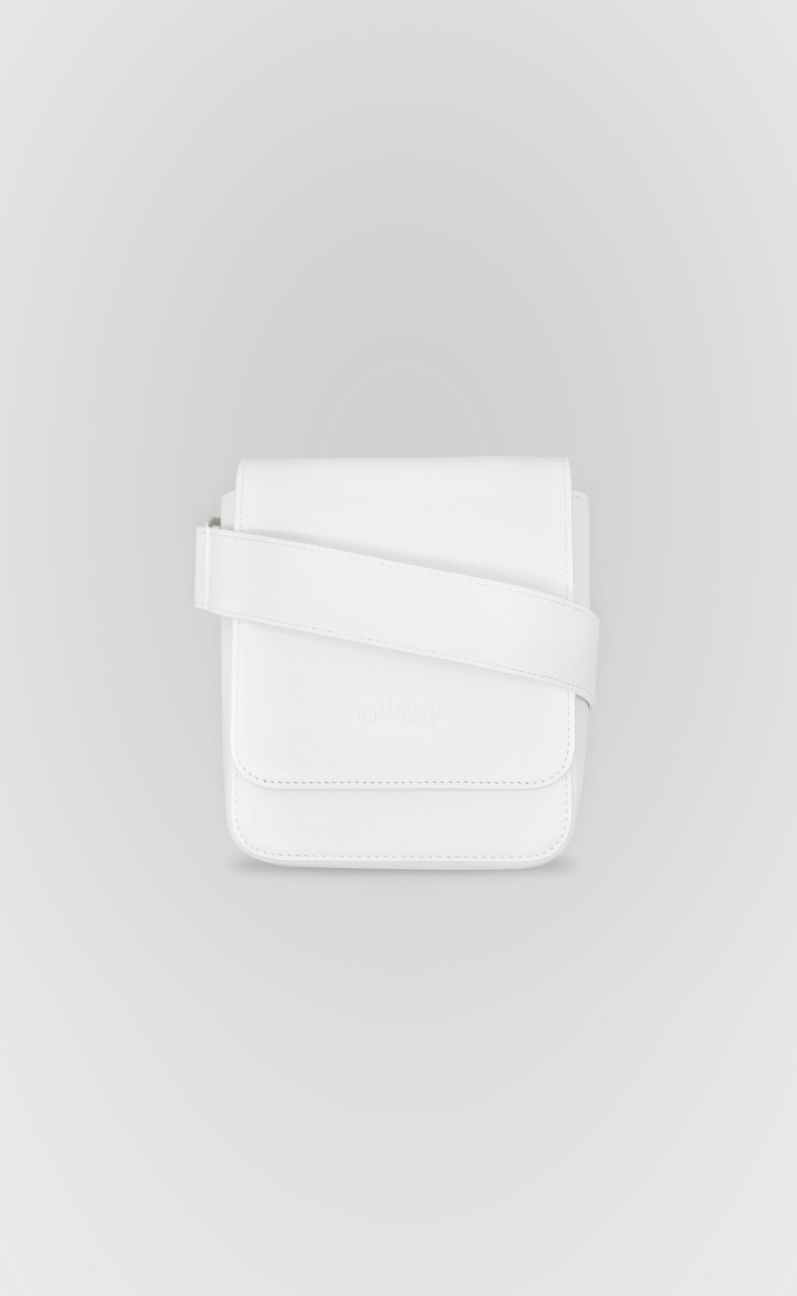 White Top Messenger Bag - Alldey Studios