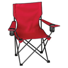 Load image into Gallery viewer, Red Tailgate Chair