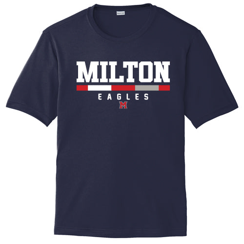 Navy Milton Dri-Fit S/S T-Shirt