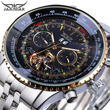 Load image into Gallery viewer, Golden Jaragar Flying Series Mens Watch