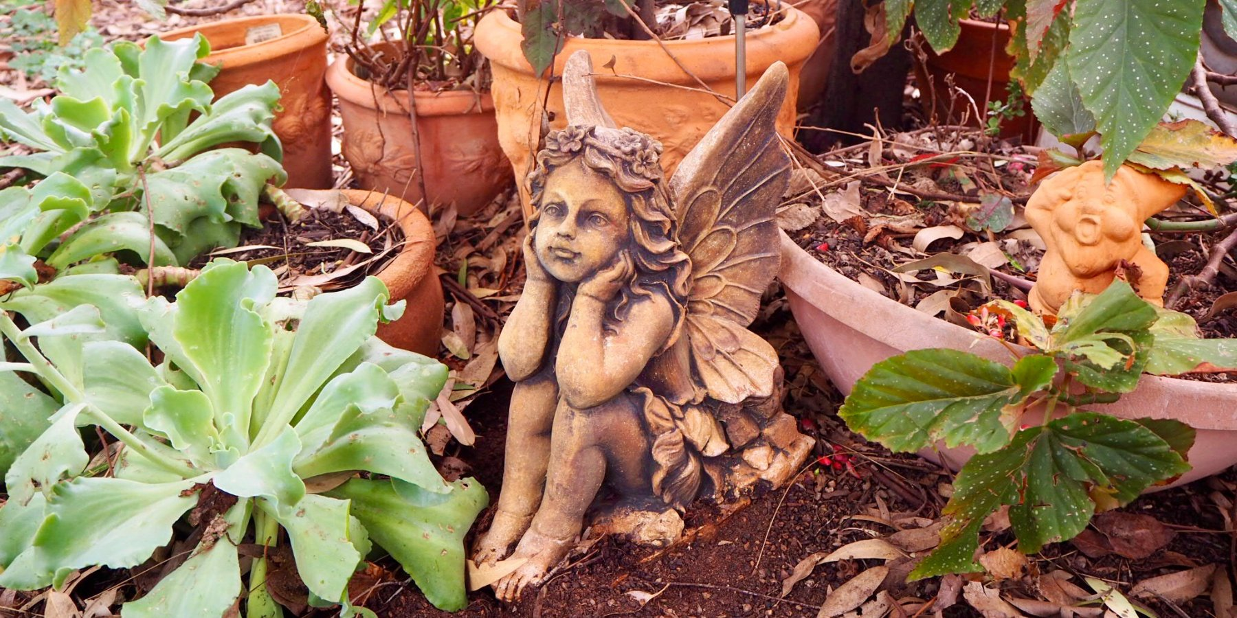Create your Magic Garden with Fairies and Elves