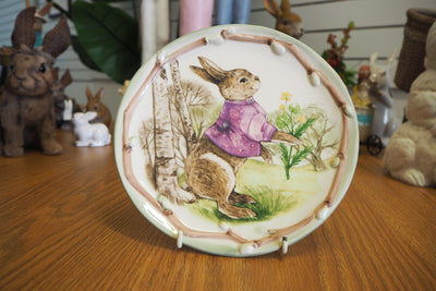 Home Decor Easter - Round Ceramic  Plate