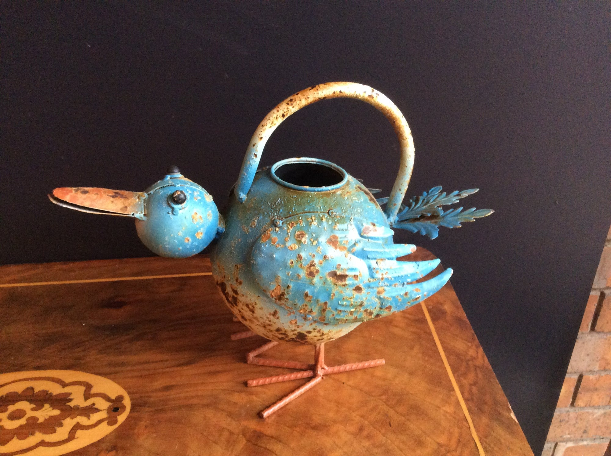Decorative Bird Watering Can