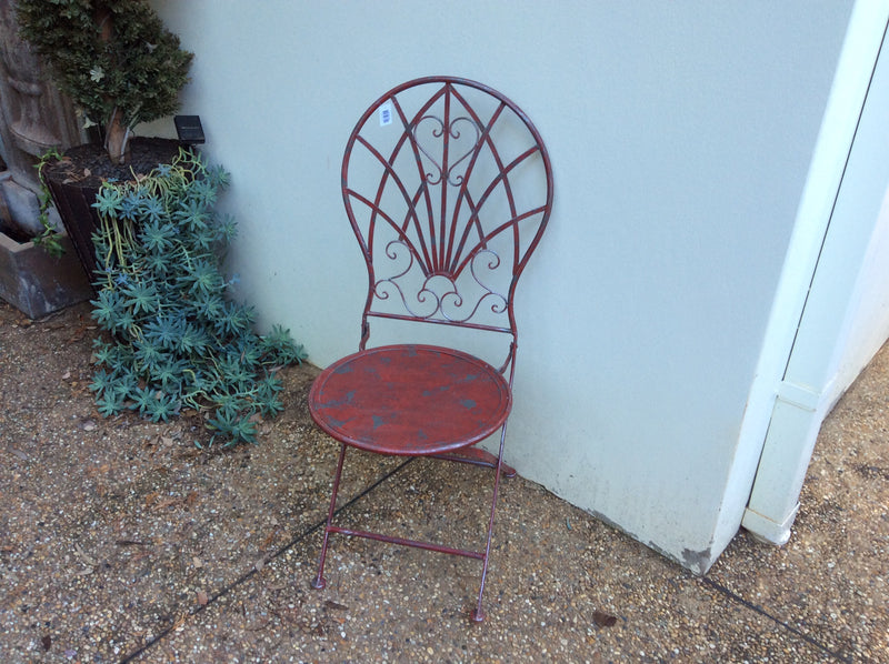 Federation Round Back folding Garden Chair