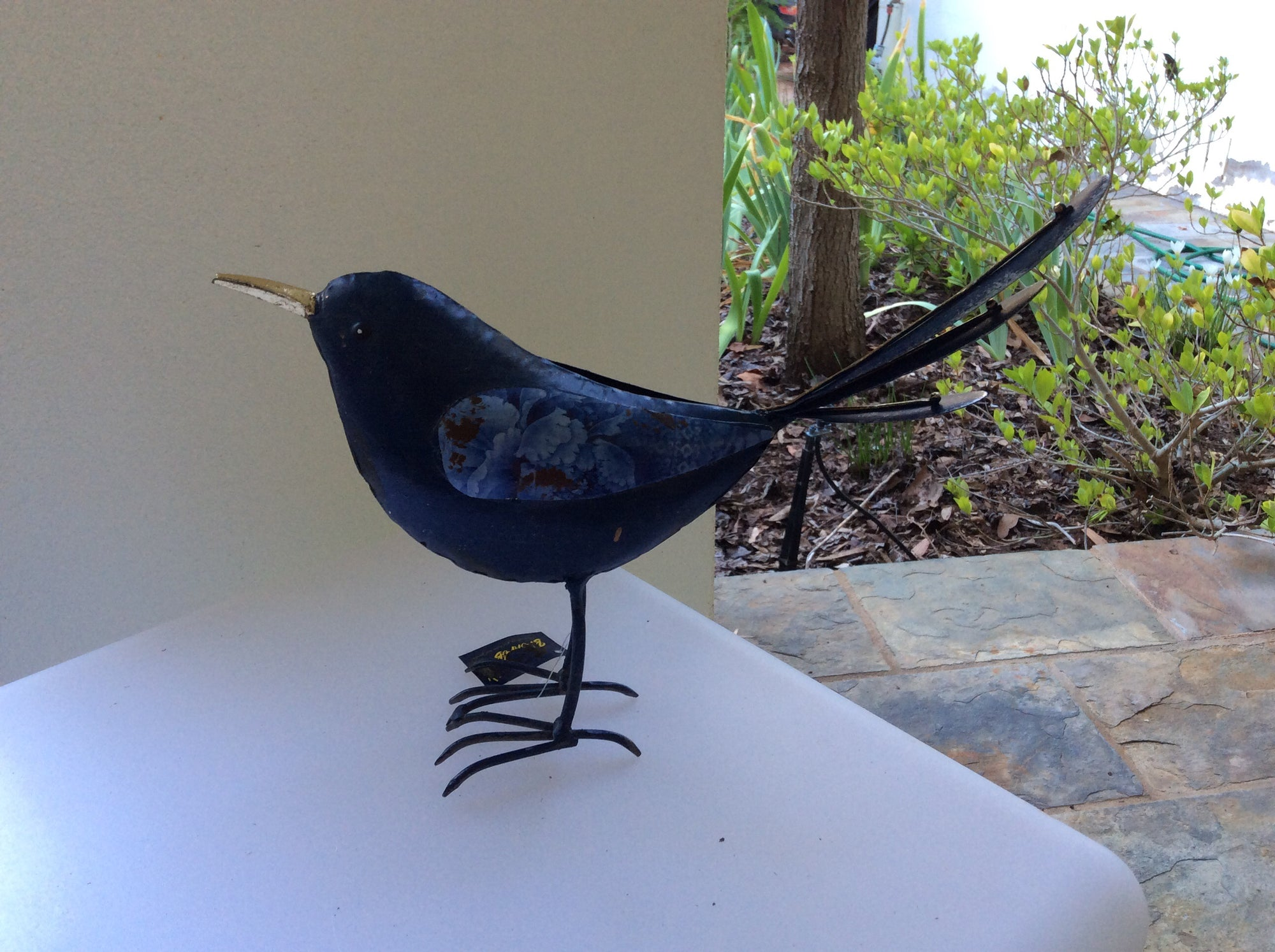 Small Blue Bird -Metal