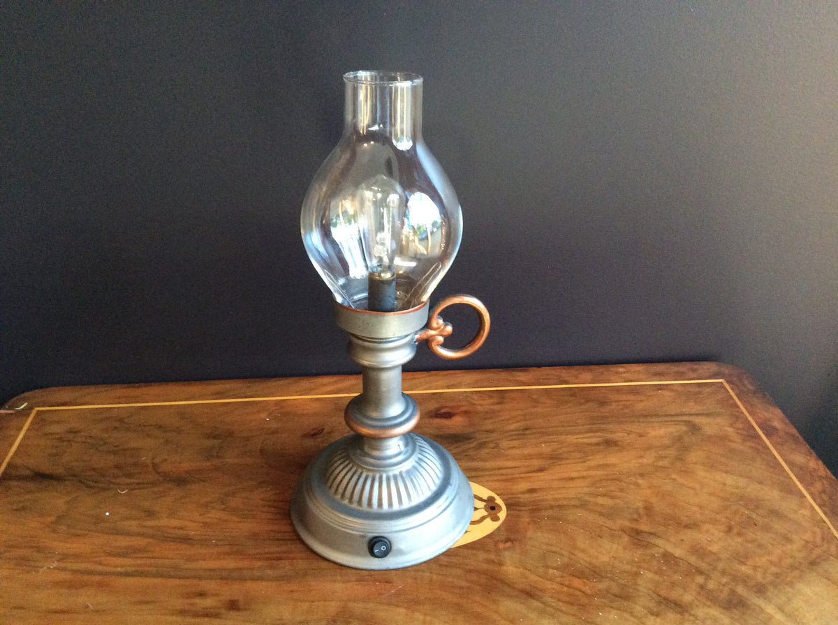 Vintage Table Lantern -Battery operated