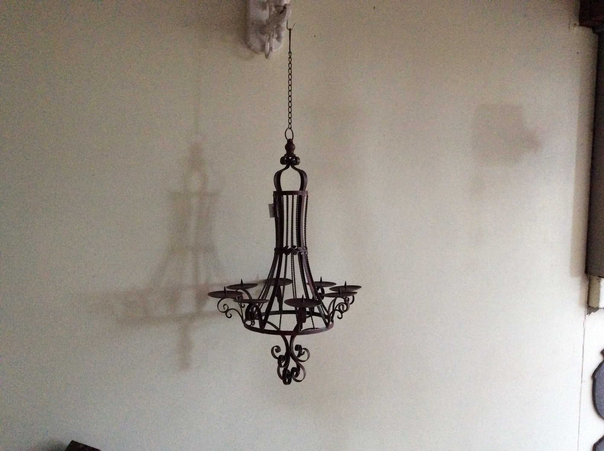 Federation Hanging Pillar Candelabra