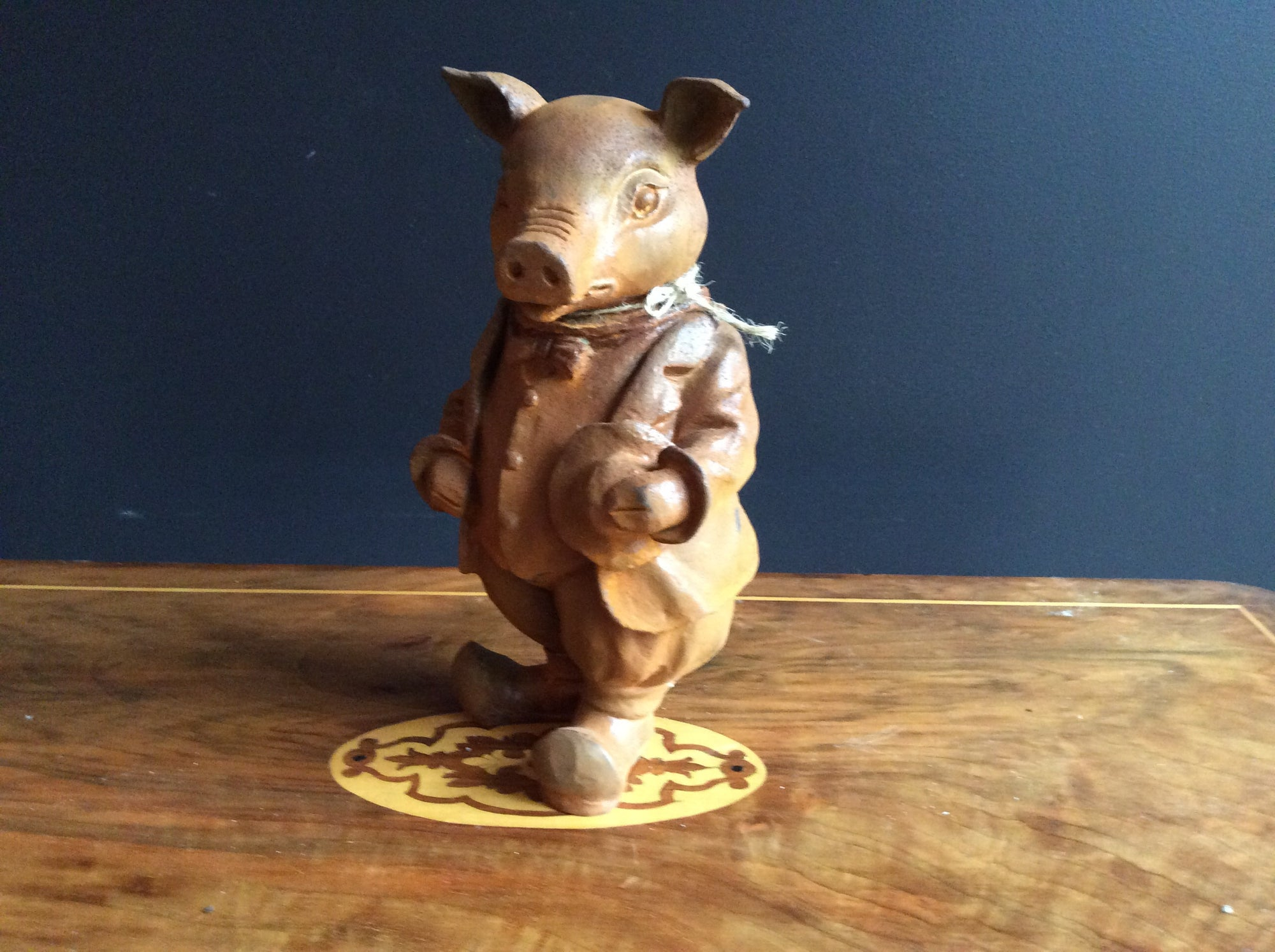 Cast Iron Pig from Willows