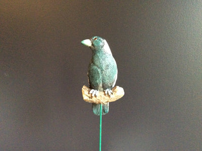 Aussie Birds on stick - Resin Magpie