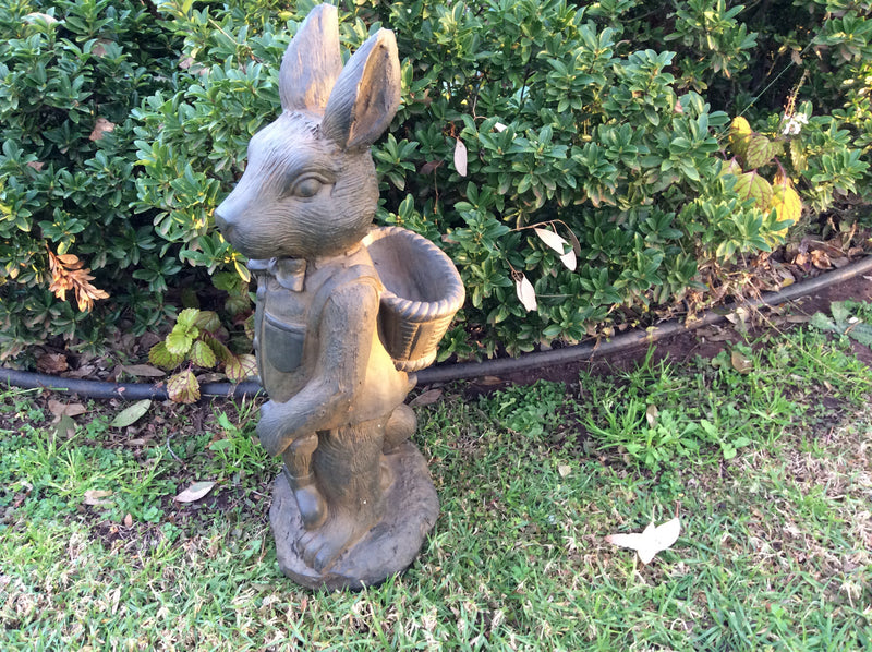 Mr Rabbit - Medium in Rusted Iron Finish
