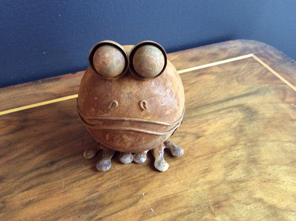 Rust Frog -Small