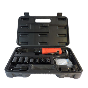 "ZP161K -- 50 ft-lb  1/2"" Air Ratchet Wrench Kit w/ 7pc socket set, extension, & universal swivel joint (Standard duty)"