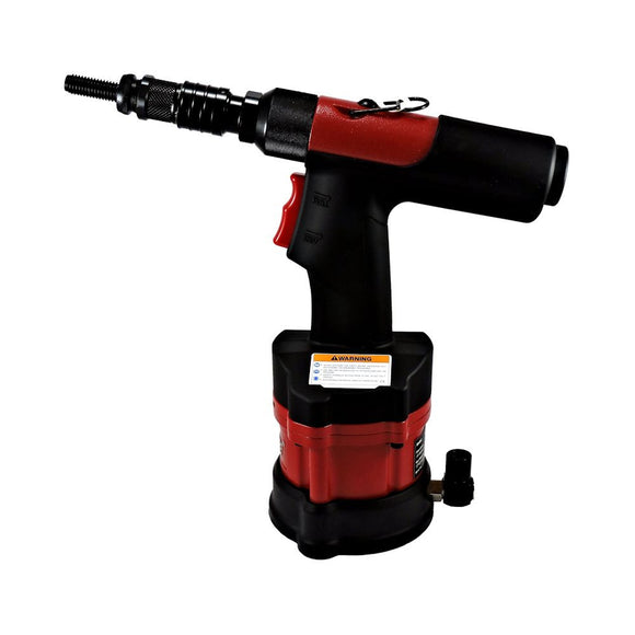 ZRN2508M (Metric) --  5500 lb Traction Power Pneumatic / hydraulic Rivet Nut Tool - Spin/Pull/Spin  [M4-M12] All Material