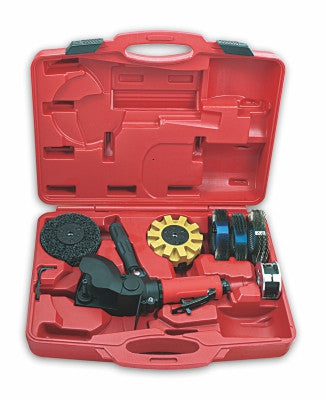 ZTU391K -- 4,000 RPM --  Rust & Paint Removal Tool Kit -- Low Noise --  Non-Vacuum