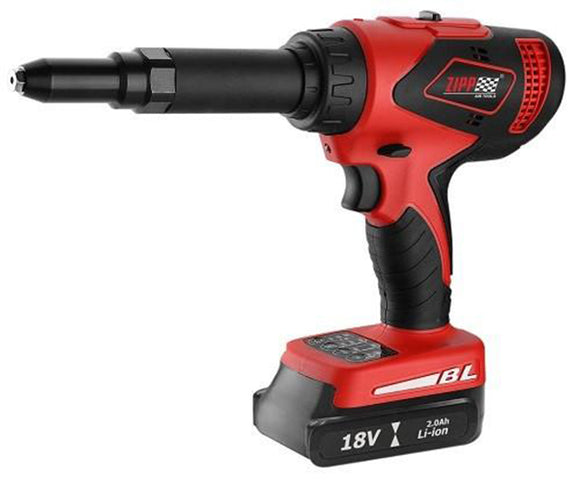 ZCR18BL Cordless Riveter, 1900 lb Pulling Force, 1/4