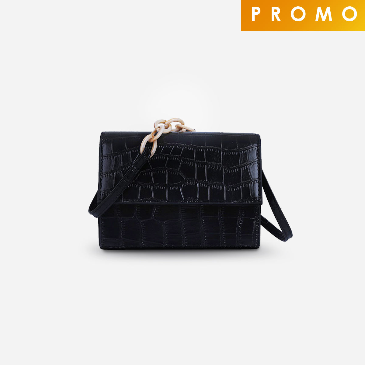 Cora Small Crossbody Bag - Black