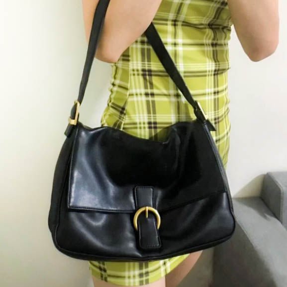 Celeste Shoulder Bag- Black