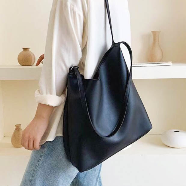 Ivette Tote Bag- Black