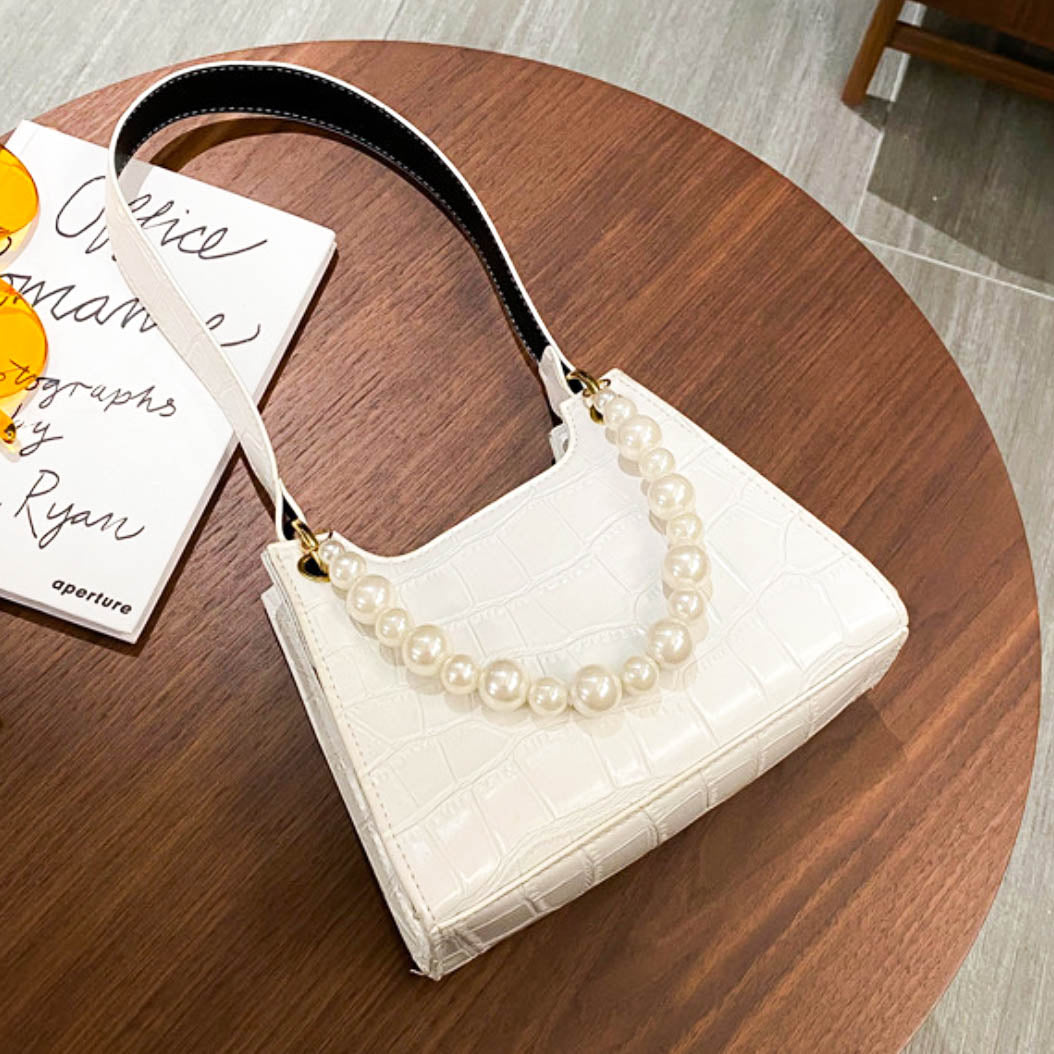 Juliet Shoulder Bag - White