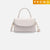 Aria Satchel Bag - White