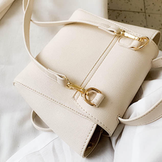 Evelyn Crossbody Bag - White
