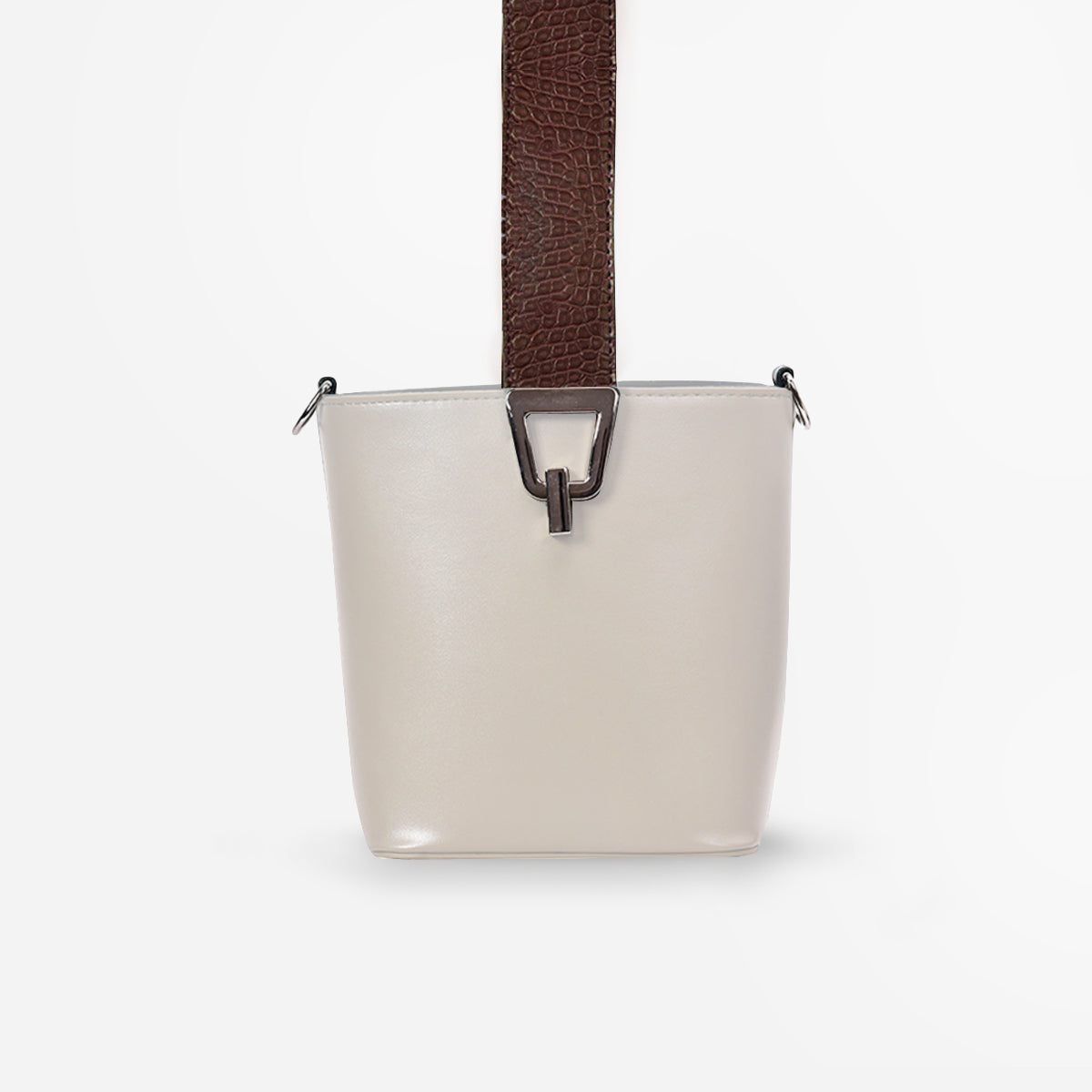 Felicia Small Crossbody Bag - beige